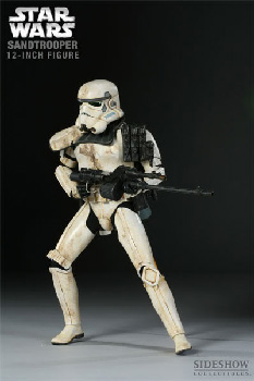 Sideshow Collectibles Militaries Of Star Wars 12-Inch Sandtrooper