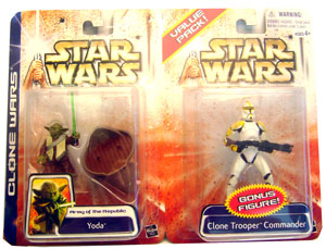 Yoda and Yellow Clone Trooper 2-Pack