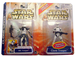 Arc Trooper and Clone Trooper 2-Pack