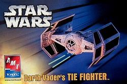 Darth Vader TIE Fighter Model Kit