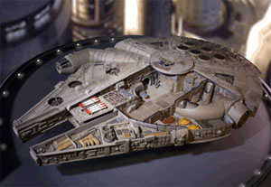 Millennium Falcon - Cut-Away Version
