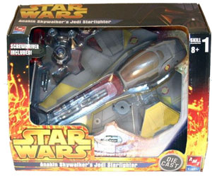 Anakin Skywalker Jedi Starfighter Die Cast Model