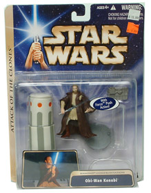 Obi-Wan Kenobi with Force Push Action
