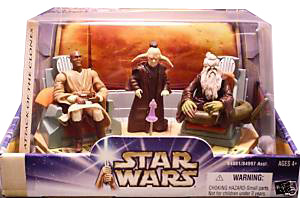 AOTC -  Jedi Council Oppo Rancisis and Even Piell and Mace Windu