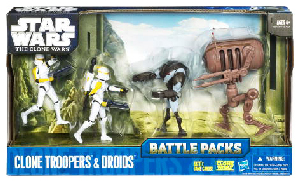 Battle Packs - Battle Pack Clone Troopers and Droids