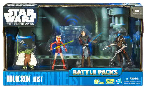 Battle Packs 2010 Blue and Black - Holocron Heist