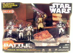 Battle Packs - Mace Windu Attack Battalion