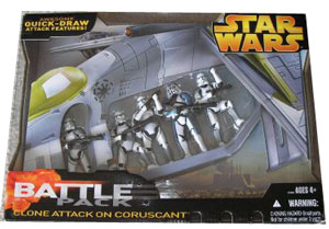 Battle Pack - Clone Attack on Coruscant