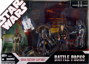 Battle Packs - Droid Factory Capture
