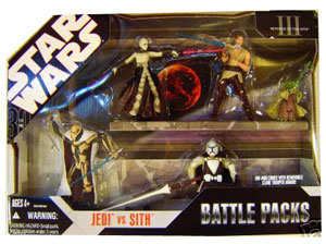 30th Anniversary - Jedi Vs Sith - Battle Packs