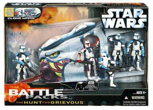 Toys -R- Us Exclusive Hunt For Grievous Battle Pack