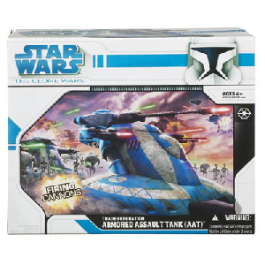 Clone Wars 2008 - AAT Trade Federation Tank (Blue)