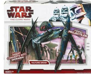 Clone Wars 2009 Red Box - Super Vulture Droid