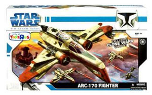 Clone Wars 2008 - ARC-170 FIGHTER Exclusive