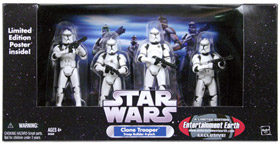 Clone Trooper 4-Pack White Clone Troopers