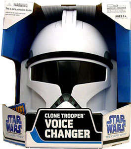 Clone Wars 2008 - Clone Trooper Helmet Voice Changer