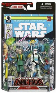 Star Wars Comic Packs: Grand Moff Tarkin and Stormtrooper