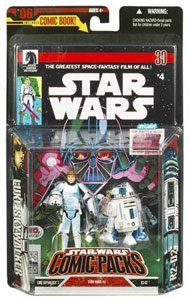 Star Wars Comic Pack - Luke Skywalker in Stormtrooper and R2-D2
