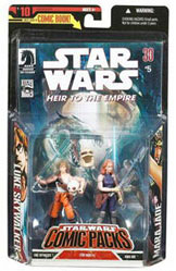 Star Wars Comic Pack - Mara Jade and Luke Skywalker