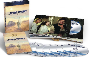 Star Wars The Complete Saga Blu-ray