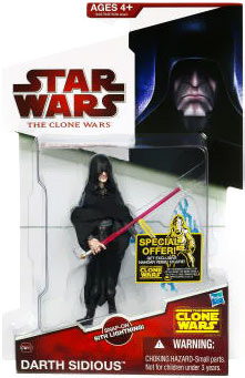 Clone Wars 2009 Red Back - Darth Sidious