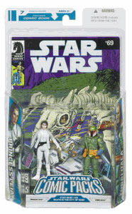 Star Wars Comic Pack - Leia and Tobbi Dala