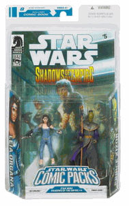 Star Wars Comic Pack - Leia Organa and Prince Xizor