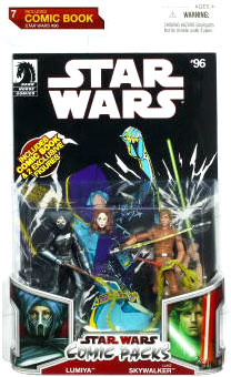 Star Wars Comic Pack - Luke Skywalker and Lumiya