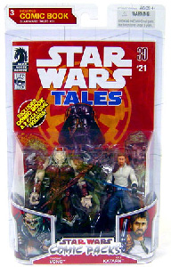 Star Wars Comic Pack - Kyle Katarn and Yuuzhan Vong