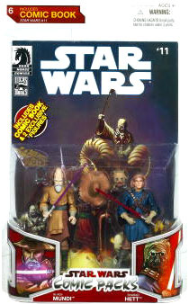 Star Wars Comic Pack - Ki-Adi-Mundi and Sharad Hett