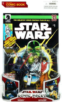 Star Wars Comic Pack - Darth Vader and Rebel Officer