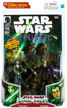 Star Wars Comic Pack - Republic 65 - T ra Saa and Tholme