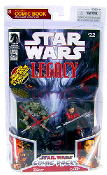 Star Wars Comic Pack - Darth Krayt and Imperial Knight Sigel Dare