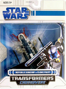 SW Transformers Crossover- Clone Pilot to Republic Gunship