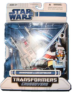 SW Transformers Crossover- Luke Skywalker to Snowspeeder