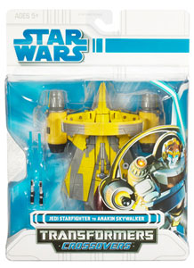 SW Transformers Crossover- Anakin Skywalker to Jedi Starfighter