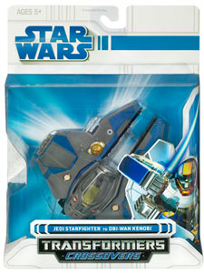 SW Transformers Crossover- Obi-Wan Kenobi to Jedi Starfighter