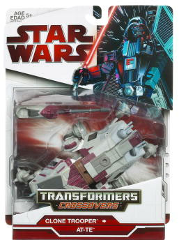 SW Transformers Crossovers 2009 Red Back - Clone Trooper to AT-TE
