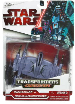 SW Transformers Crossovers 2009 Red Back - Magnaguard to Magnaguard Starfighter