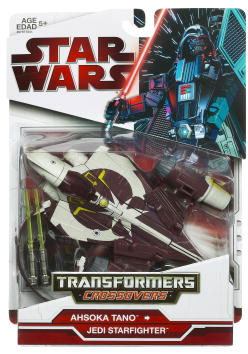 SW Transformers Crossovers 2009 Red Back - Ahsoka Tano to Jedi Starfighter