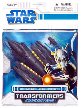 SW Transformers Crossovers - General Grievous to Grievous Starfighter