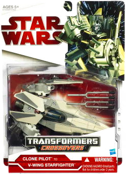 SW Transformers Crossovers - Clone Pilot to V-Wing Starfighter