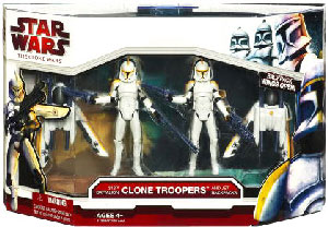 Clone Wars - 212th Battalion Clone Troopers with Jet Backpacks