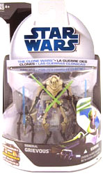 Clone Wars 2008 - General Grievous 1st Day Issue