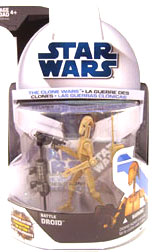 Clone Wars 2008 - Battle Droid 1st Day Issue