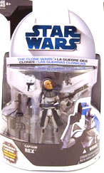 Clone Wars 2008 - Captain Rex 1st Day Issue