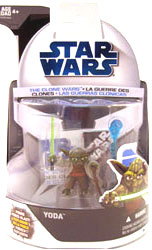 Clone Wars 2008 - Yoda 1st Day Issue