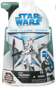 Clone Wars 2008 - Space Clone Trooper