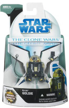 Clone Wars 2008 - R3-S6 Goldie