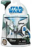 Clone Wars 2008 - Clone Trooper 41st Elite Corps Green